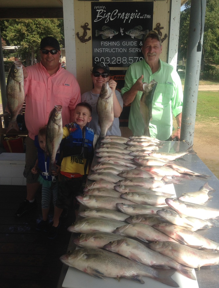 08-20-14 Peyton Keepers with BigCrappie Guides Tx