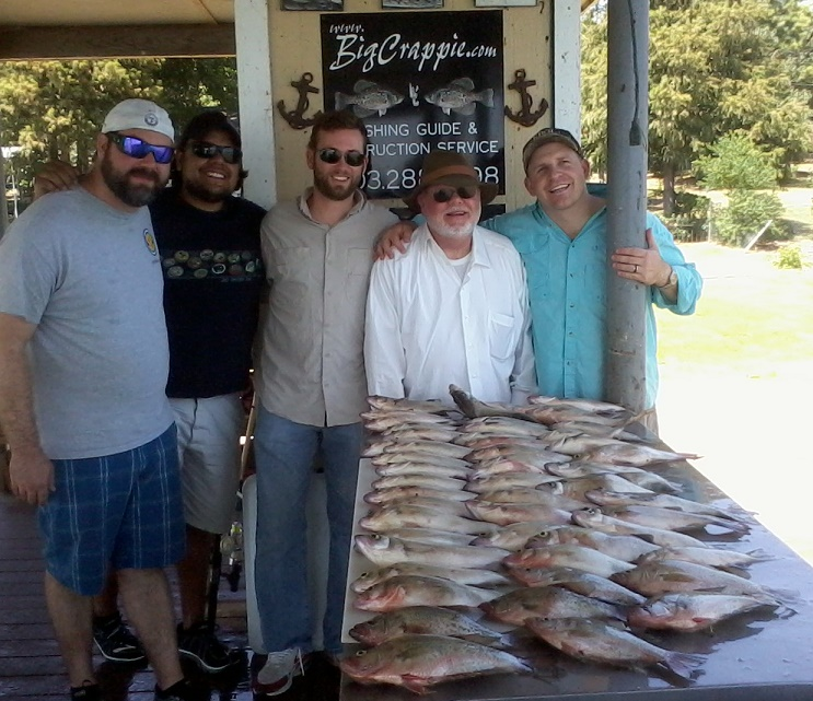 08-23-14 Dickey Keepers with BigCrappie Guides CCL