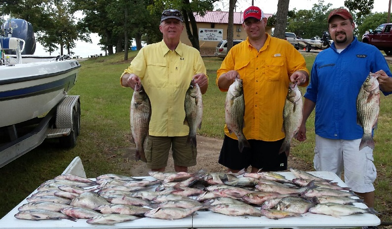 08-30-14 Bowman Keepers with BigCrappie Guides TX