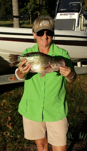 10-3-14 Weaver Crappie with BigCrappie Guide CCL