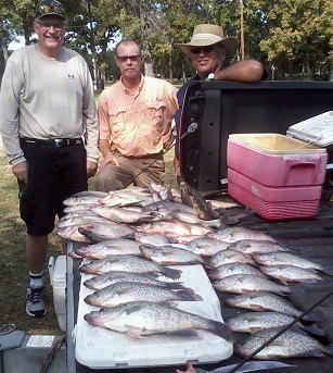 Ferguson Keepers on CCL with BigCrappie Guides