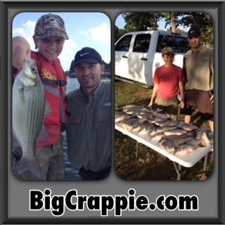 Burnett Keepers on CCL with BigCrappie Guides