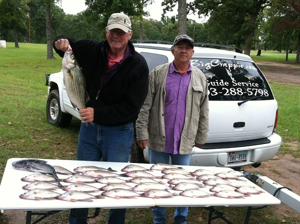 Acuff Keepers with BigCrappie Guides CCL TX