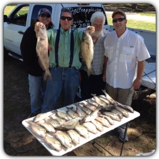 10-16-14 Terhune Keepers with BigCrappie Guides