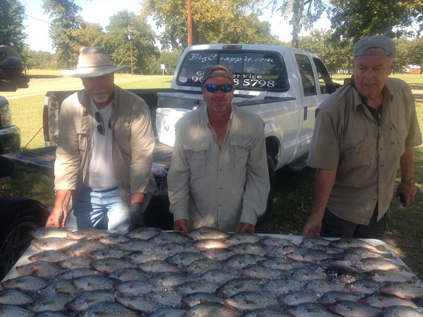 10-20-14 Friedel Keepers with BigCrappie on CCL Tx