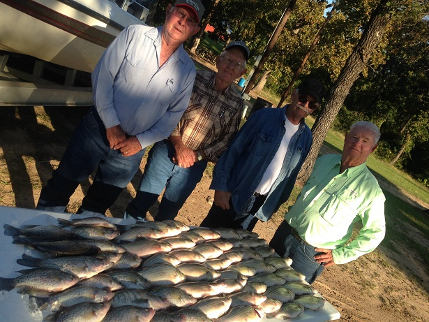 10-22-14 Daves Crew with BigCrappie CCLake TX