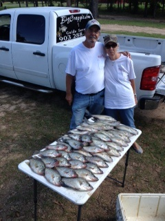 10-22-14 Garrett Keepers with BigCrappie Guides Tx