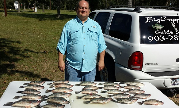 10-22-14 Leard Keepers with BigCrappie on CCL Tx