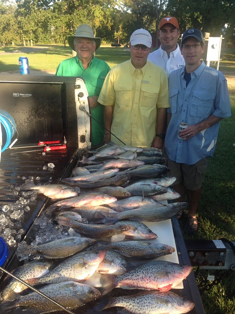10-25-14 Castro Keepers with BigCrappie guides CCL