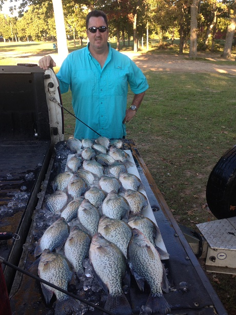 10-26-14 Ursini Keepers with BigCrappie Guides CCL