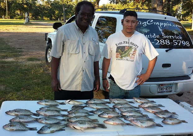 10-26-14 Williams Keepers with BigCrappie guides T