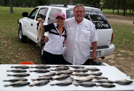 10-28-14 Patrick Keepers with BigCrappie guides Tx