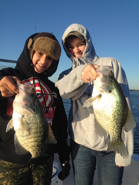 11-01-14 Bingham 2Crappie with BigCrappie Guides CCL Tx