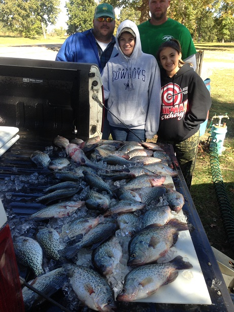 11-01-14 Bingham keepers with BigCrappie.com guide