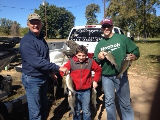 11-1-144 Wallace Keepers with BigCrappie Guides TX