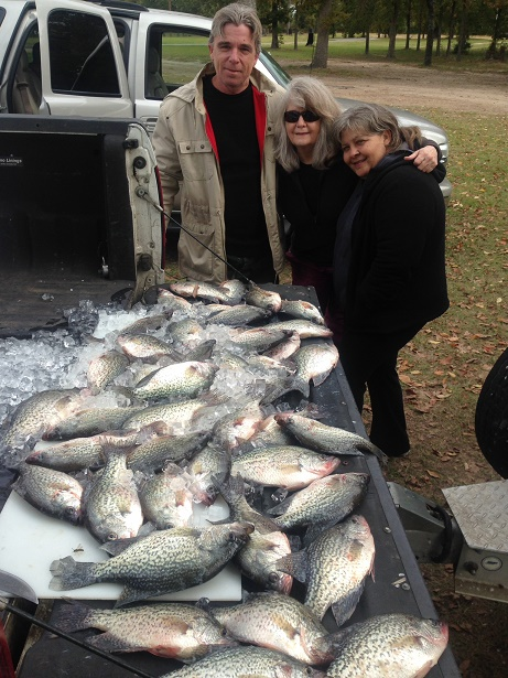 11-8-14 Hamilton Keepers with BigCrappie Guides Tx