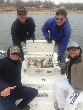 12-2-14 Nguyen with BigCrappie Guides on CCL Tx