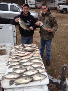 12-21-14 Freiheit Keepers with BigCrappie Guides