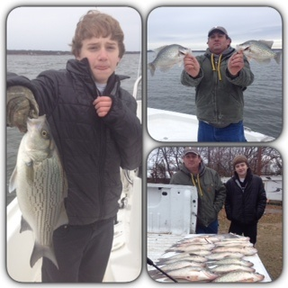 12-28-14 Harwell with BigCrappie Guides on CCL Tx