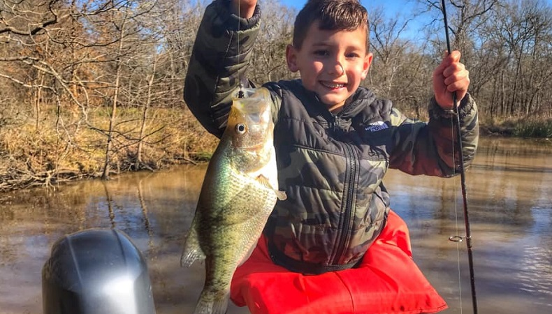 January 2019 BigCrappie.com Cedar Creek Lake Tx Fishing Report