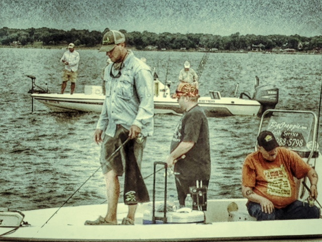 Guides on Boats with BigCrappie Guide Service
