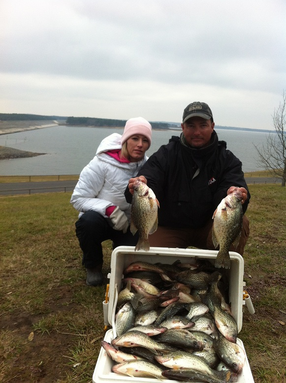 Cooler Of Crappie At Lake O Pines Chuck Laurie Rs