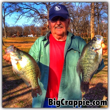 Jones Double Crappie