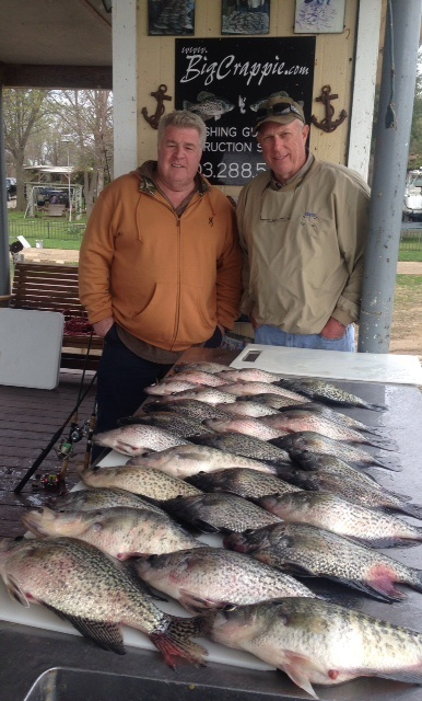 04-01-14 White Keeper Crappie Cedar Creek Lake Tx
