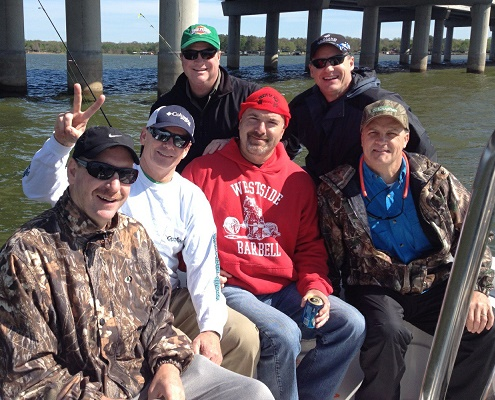 04-04-14 Conrad Party out with BigCrappie TX