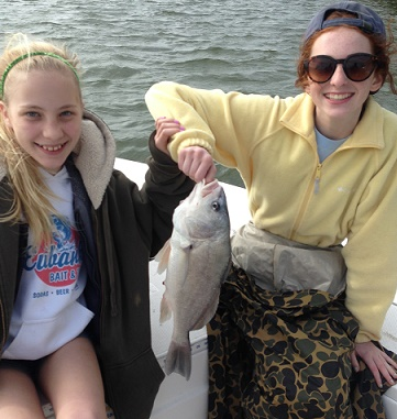 04-12-14 Eubanks Girls out with BigCrappie.com