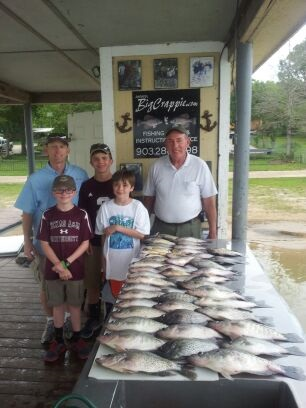 04-19-2014 Stevens keepers with BigCrappie