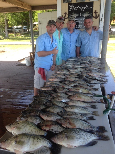 04-25-2014 Haygood Keepers with bigcrappie