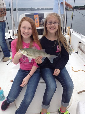 Darnell Girls White Bass