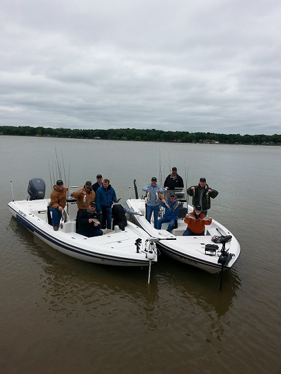 05-13-2014 Battle Crew having a blast BigCrappie
