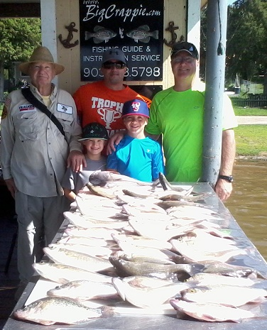 07-07-14 Brown Keepers with BigCrappie