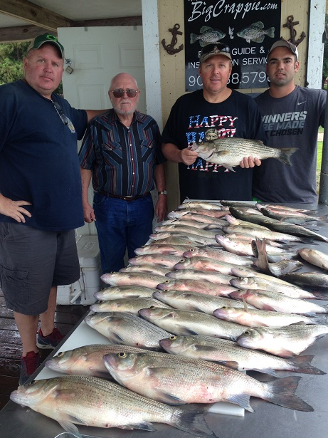 07-18-14 GRIFFITH KEEPERS WITH BIGCRAPPIE
