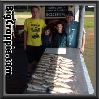 07-27-14 Coe Keepers with BigCrappie