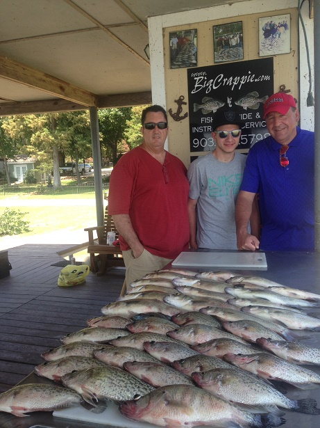 08-08-14 Ursini Lowey Keepers with BigCrappie