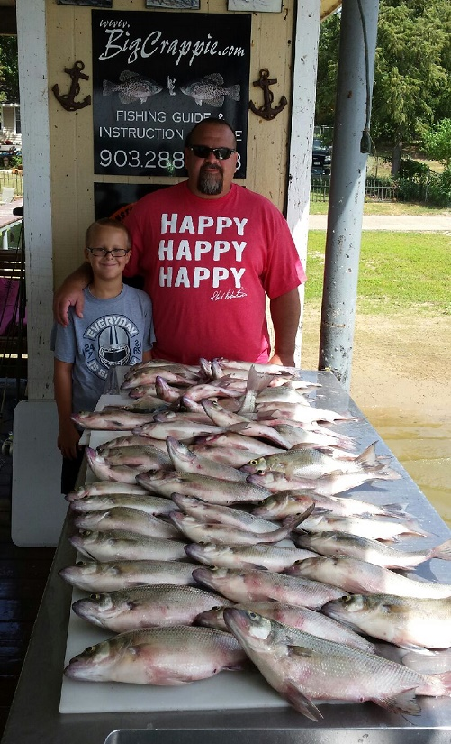 08-20-14 Ondrusek Keepers with BigCrappie Tx