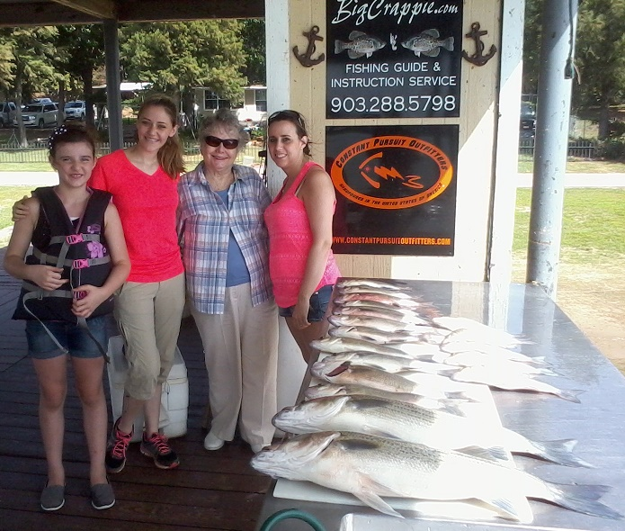 08-20-14 Suggs Keepers with BigCrappie Cedar Creek