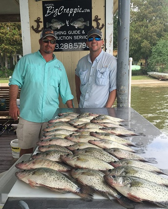 Chuck and Chris Crappie Keepers