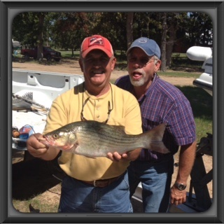 9-19-14 Redinger Hybrid with BigCrappie Guides