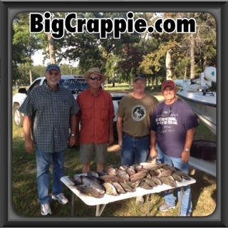 09-19-14 Reding Keepers with BigCrappie Guides