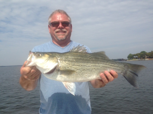 09-27-14 Huges Hybrid with BigCrappie Guides