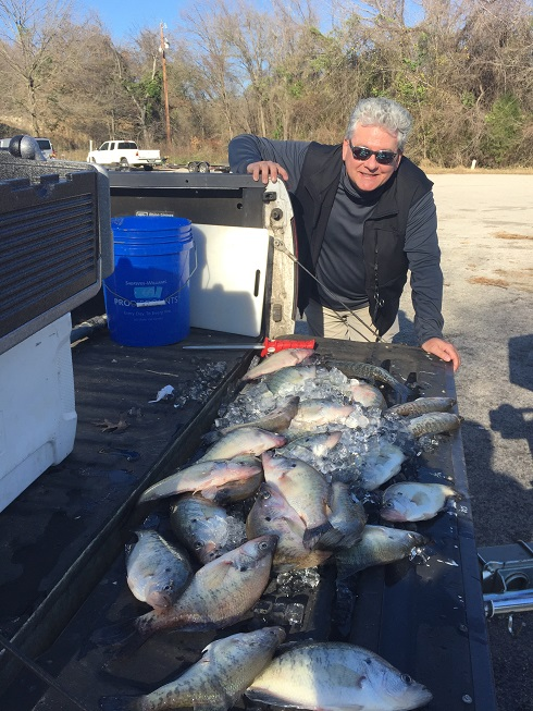 RC Crappie fishing keepers