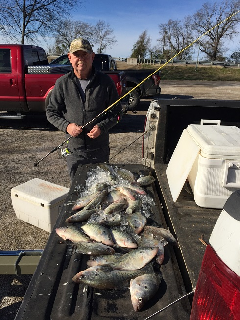 TJ Crappie fishing keepers