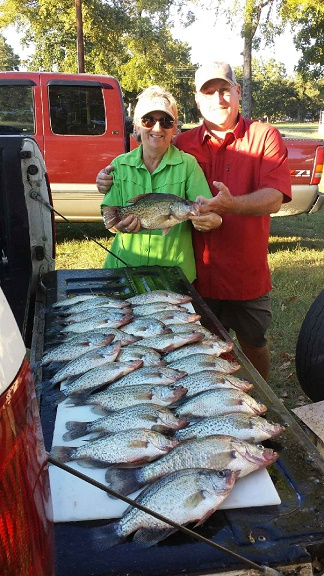 10-3-14 Weaver Keepers with BigCrappie Guide CCL