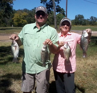 10-4-14 Weaver Keepers with BigCrappie Guide CCL