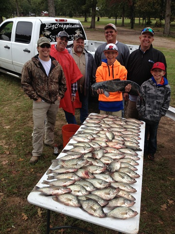Graham Keepers on CCL with BigCrappie Guides