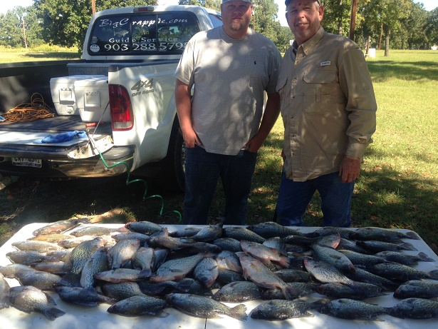 10-15-14 Drummond Keepers with BigCrappie CCL Tx